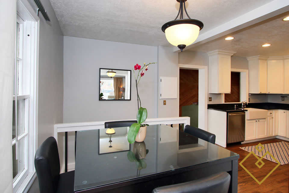 Dining Area After Staging