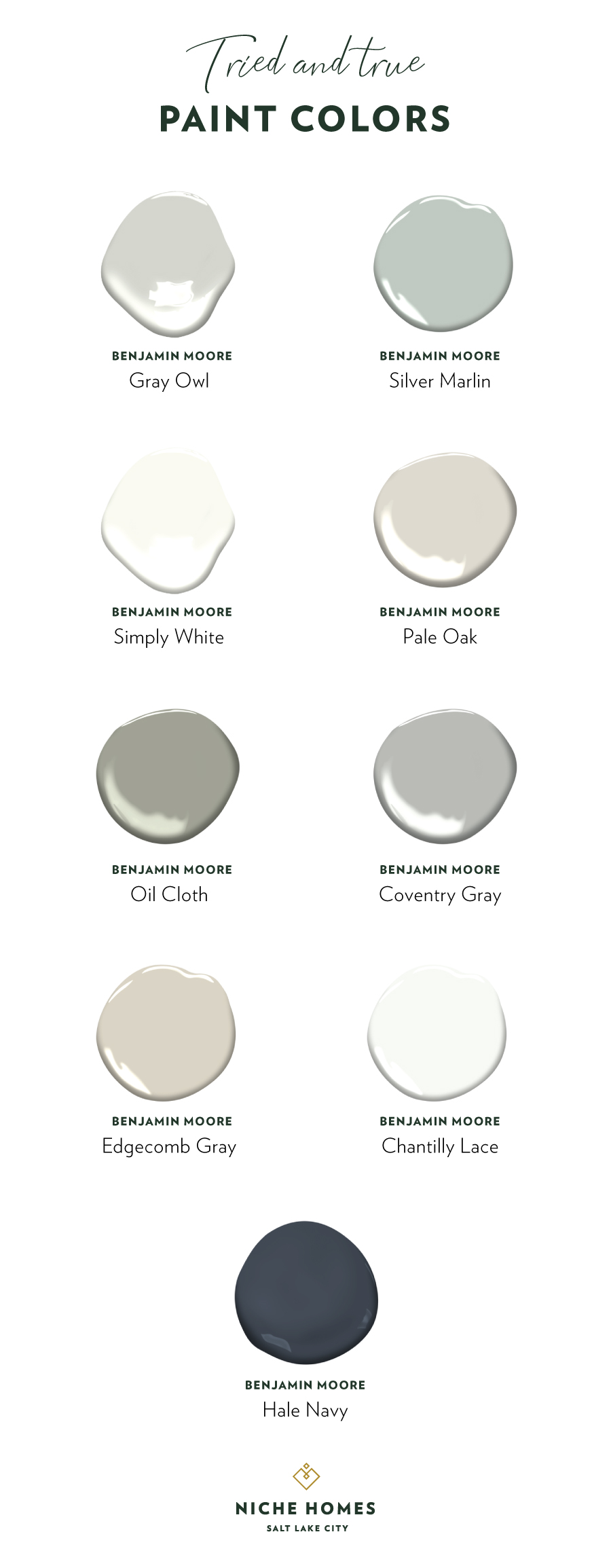 Kayley Danielson S Tried And True Paint Colors Niche Homes